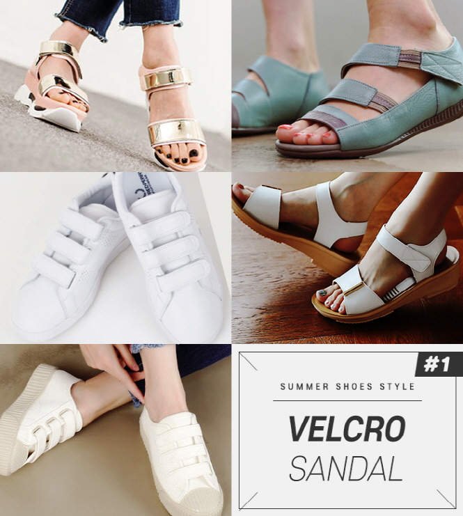 if you are looking for comfort rather than design, we recommend Velcro sandals