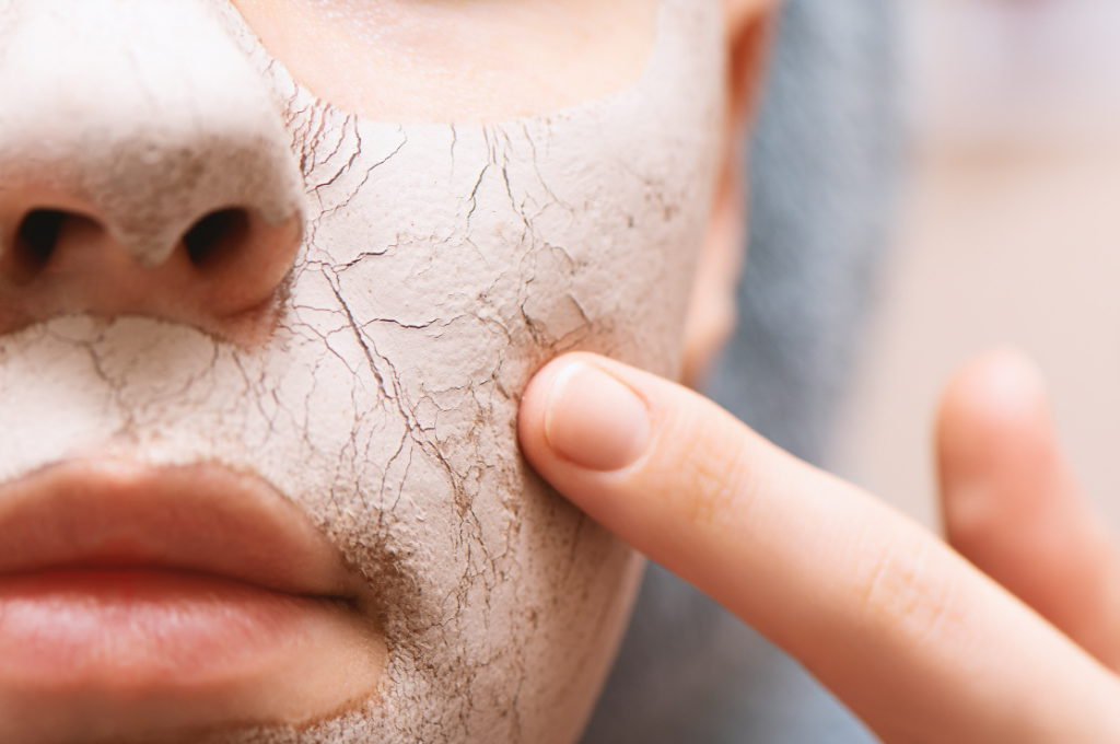 take care skin problems cause by wearing face mask