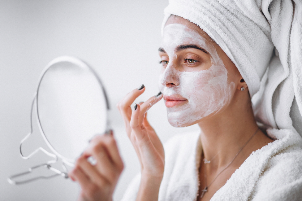 Cleaning skin to proect skin trouble