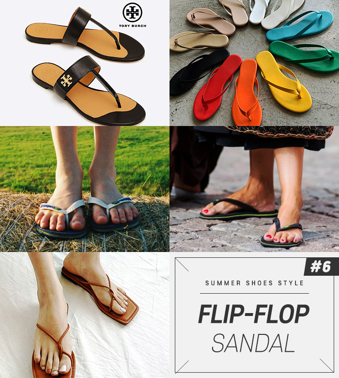 Flip-flops can create a free atmosphere, as if they didn't care, and they boast extreme comfort