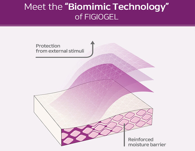 Meet the biomimic Technology of PHYSIOGEL