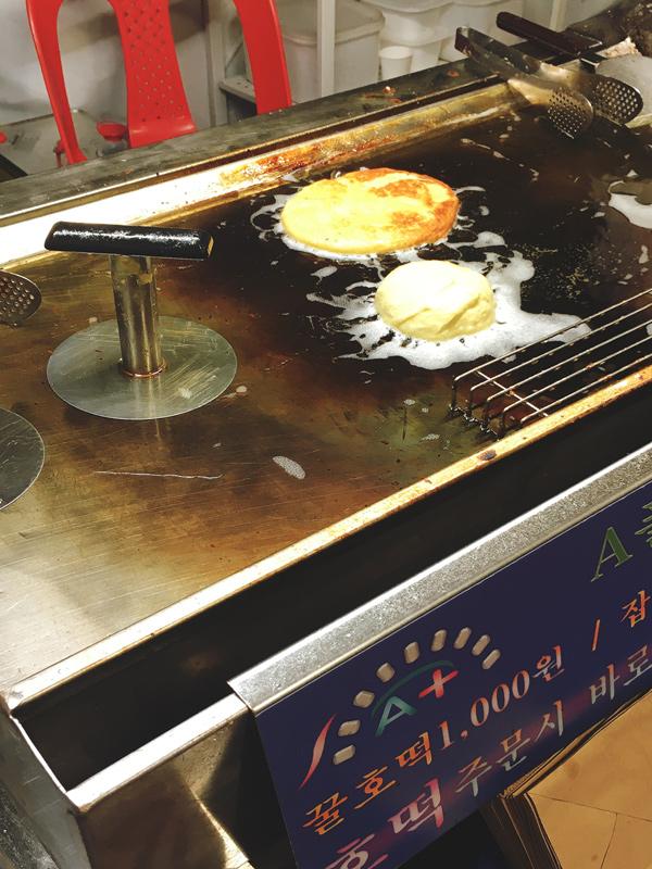 korean sweet pancake