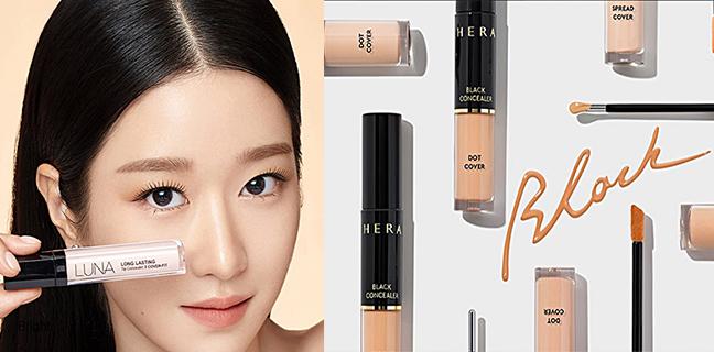 Top6 Concealers Loved by Koreans