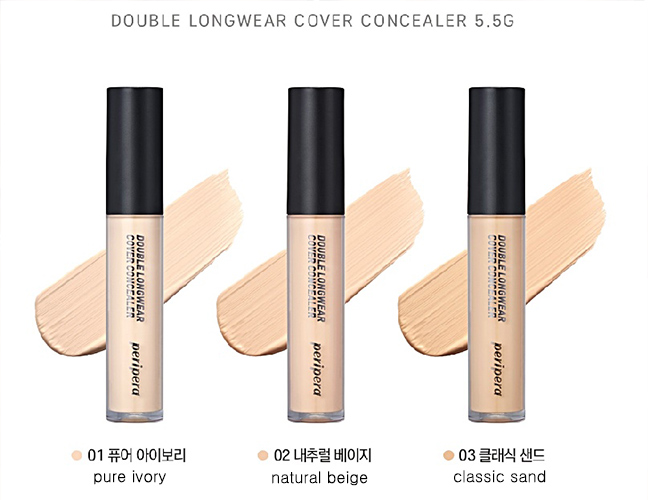 PERIPERA Double Longwear Cover Concealer
