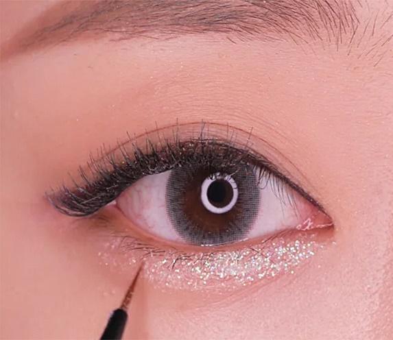 aegyo sal makeup